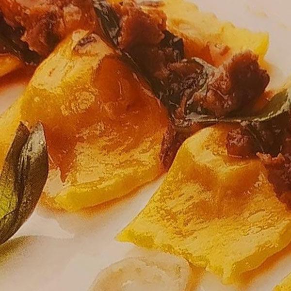 Ragù di salsiccia matta con stridoli
