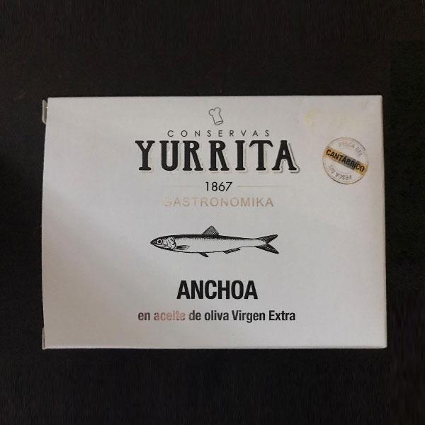 Acciughe Del Cantabrico Yurrita