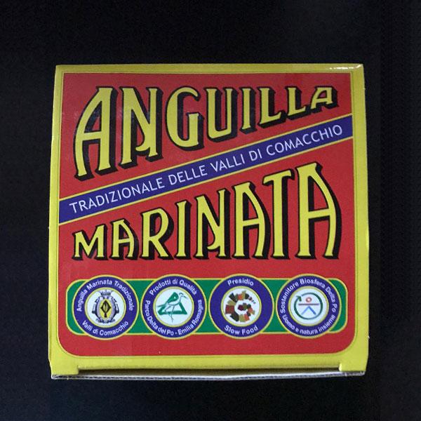 Anguilla Delle Valli Di Comacchio Marinata